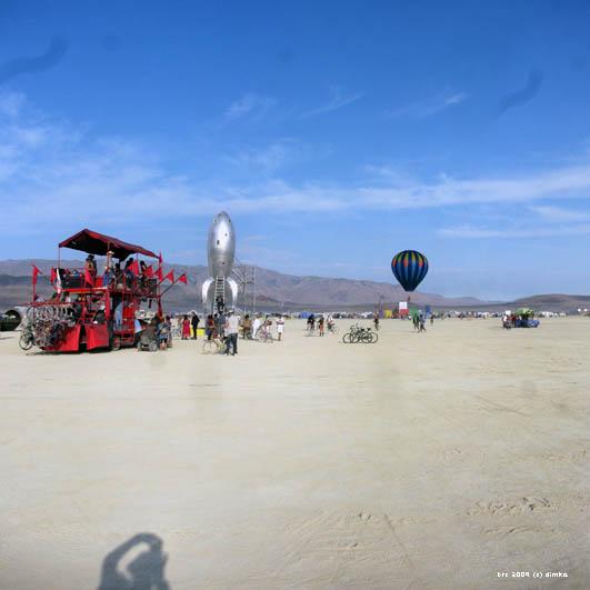 Rocket - Burning Man Istallation, BRC 2009