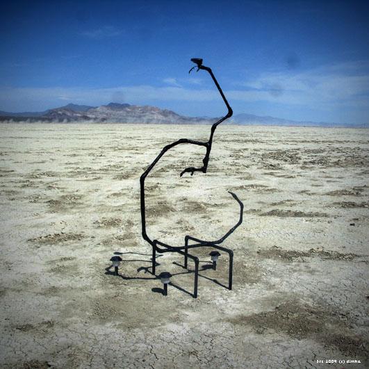 Kazya - Burning Man Istallation by Dimka and Katya, 2009