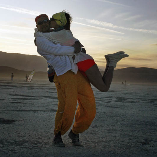 Kiss - Burning Man Festival 2009